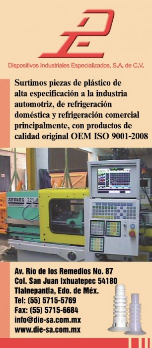 Dispositivos Industriales Especializados, S.A. de C.V.