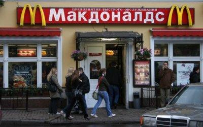 Clausuran cuatro McDonalds en Rusia