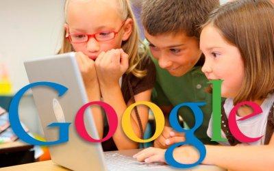 Google trabaja en crear cuentas para niños