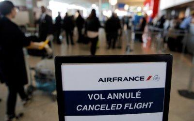 Air France pierde hasta 205 mdd por huelga