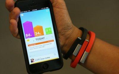 Pulsera para monitorear hábitos