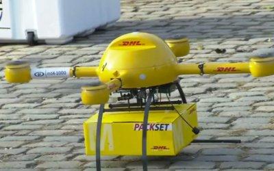DHL presenta dron para entrega de paquetes