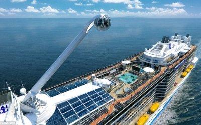 Royal Caribbean estrena barco de ciencia ficción