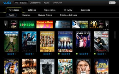Vudu México finaliza servicio de streaming de video