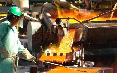 Producción minerometalúrgica disminuyó 3.8% en mayo