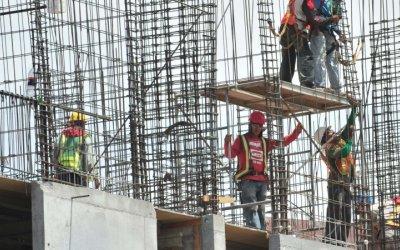 Producción de constructoras creció 0.6% en junio